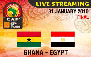 Watch African Cup of Nations Live - Final Ghana vs Egypt
