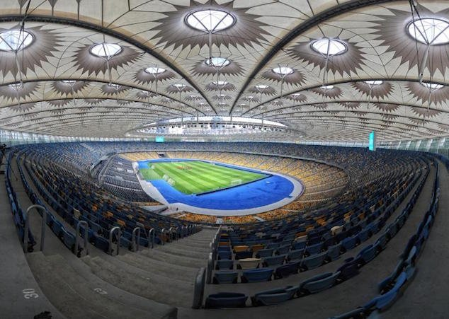 The stadium hosted the final of the 2012 Euro Cup