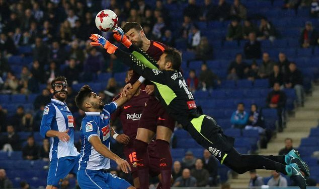 Pique in a war of words with Espanyol