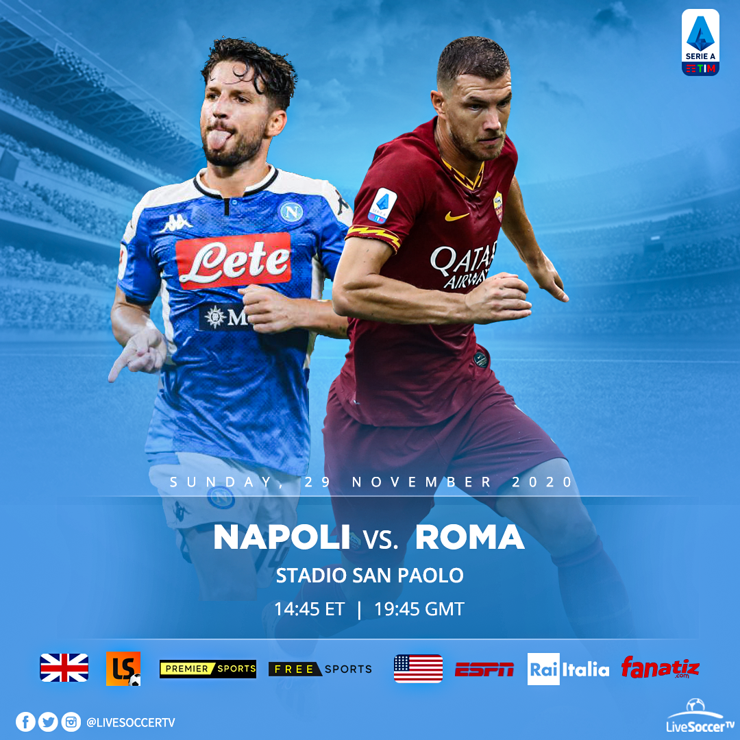 Napoli, AC  Milan, Broadcast Listings, Serie A