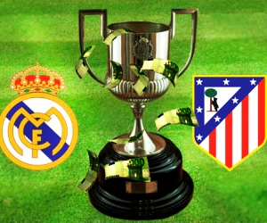 Real Madrid vs Atletico Madrid is the fixture for the 2012/13 Copa del Rey final.