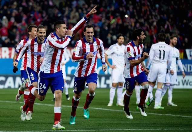 Atletico is undefeated against Real Madrid this season