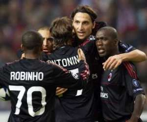 AC Milan earned a point away to Ajax. Zlatan Ibrahimovic equalized for the Rossoneri as he scored against one of his former clubs.