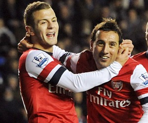 Santi Cazorla saved the day for Arsene Wenger in Arsenal's latest match against Reading in the English Premier League.