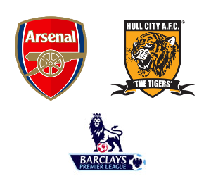 Arsenal will be at home to Hull City in the Premier League on December 4, 2013.