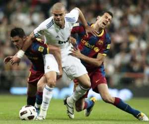 Pepe was at the center of Real Madrid's defensive approach against Barcelona during El Clasico.
