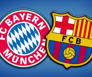 Watch Bayern Munich vs Barcelona live on Tuesday, April 23, 2013.