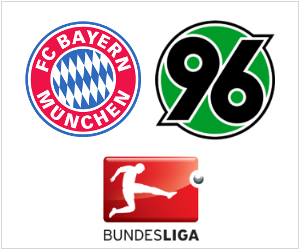 Bayern Munich will play at home to Hannover 96 in the Bundesliga on Saturday, September 14, 2013.
