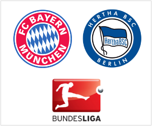 Bayern will host Hertha Berlin in the Bundesliga after trouncing Plzen 5-0 in the Champions League.