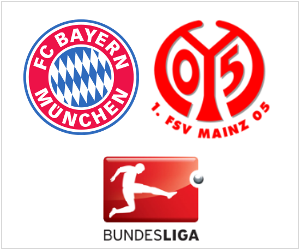 Bayern will play Mainz on October 19, 2013.