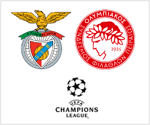Champions League: Benfica will welcome Olympiakos Piraeus in Portugal on October 23, 2013.