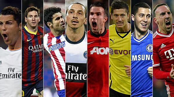 Champions League Last 8 superstars