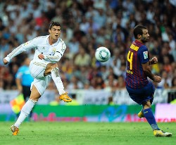 Cristiano Ronaldo is yet to score a goal at the Camp Nou against Barcelona.