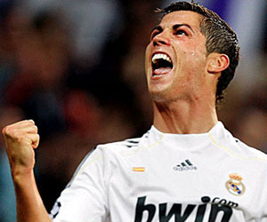 Barcelona 0-1 Real Madrid: Cristiano Ronaldo scored Real Madrid's goal in the Copa del Rey final 2011.