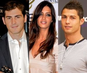 Cristiano Ronaldo, Sara Carbonero, and Iker Casillas: Two Real Madrid players who are believed to be struggling because of one girl...