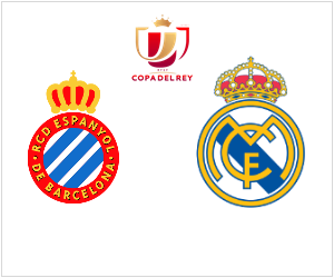 Espanyol vs Real Madrid - Copa del Rey