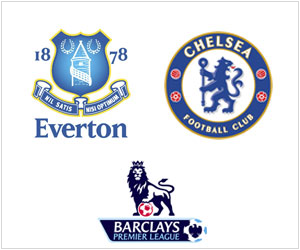 Everton and Chelsea clash at Goodison Park in the late EPL kick-off on Saturday, September 14, 2013.
