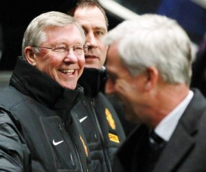 Manchester United's Alex Ferguson to Alan Pardew: Newcastle United is a wee club