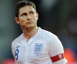 Frank Lampard won't carry England's captain armband against Wales as John Terry has been restored to this role.