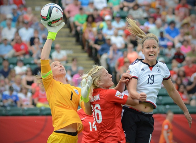 Germany lost to England in the Third-Place final at the 2015 FIFA Women's World Cup.