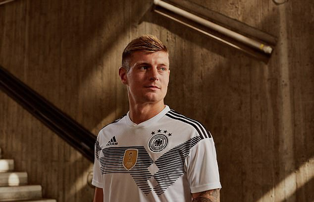 Toni Kroos,Germany, 2018 World Cup