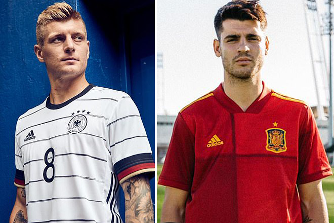 Toni Kroos, Alvaro Morata, Germany, Spain, Euro 2020`