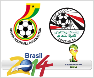 Ghana vs Egypt will be live in USA and other countries on Tuesday, October 15, 2013.