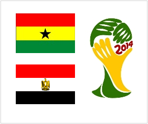 Ghana vs Egypt appears as a great occasion for African football to showcase itself to the world on Tuesday, October 15, 2013.