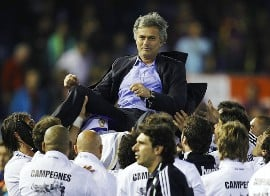 Jose Mourinho is on a high, but what will the UEFA Champions League's Real Madrid vs Barcelona match.