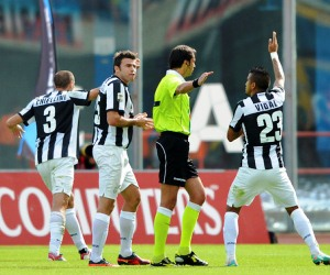 Juventus want to put controversy behind ahead of the Serie A clash against Bologna on October 31, 2012.