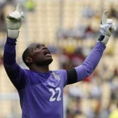 Ghana's goalkeeper, Richard Kingston