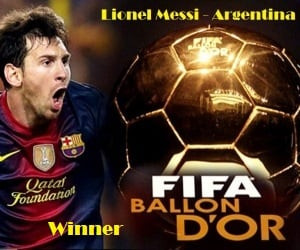 Lionel Messi - 2012 FIFA Ballon d'Or winner but AngIKE Entertainment explains how loser Cristiano Ronaldo got hit by bad luck.