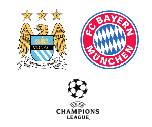 Manchester City vs Bayern Munich is arguably the biggest match of the UEFA Champions League's Matchday 2 fixtures, scheduled for October 2, 2013.