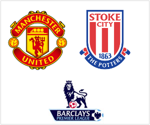 Manchester United are poised to defeat Stoke City on Matchday 9 of the 2013/14 English Premier League