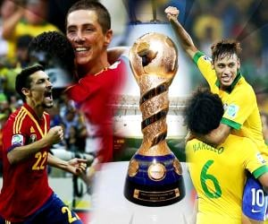 It is Neymar vs Spain, the big duel of the Confederations Cup 2013 final which host Brazil so want to win!