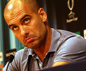 Pep Guardiola is totally critical of Barcelona's critics.