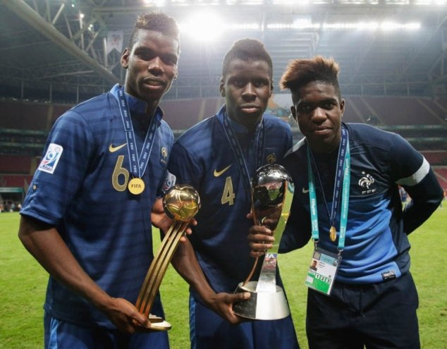 Paul Pogba - player of the 2013 FIFA U-20 World Cup tournament