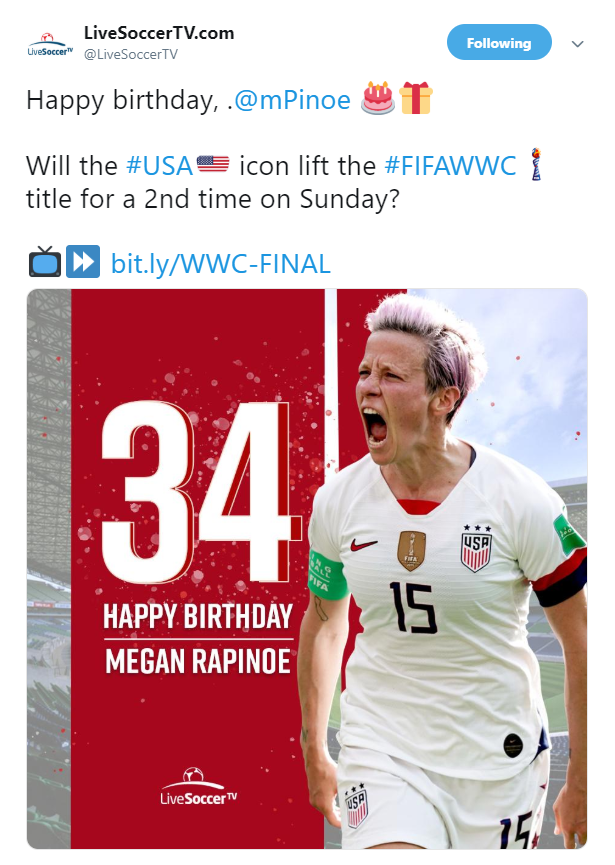 Megan Rapinoe, USWNT, FIFA Women's World Cup