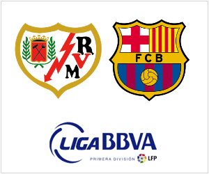 Rayo Vallecano host Barcelona in La Liga on Saturday, September 21, 2013.