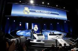 UEFA Champions League Draw - Group G - Real Madrid