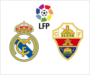 Real Madrid vs Elche set for February 22, 2014