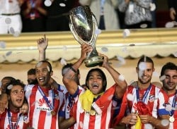 Radamel Falcao inspired Atletico Madrid to glory in the UEFA Europa League and UEFA Super Cup in 2012.