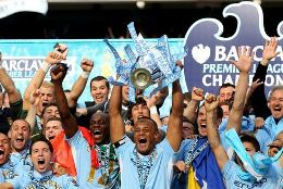 Manchester City won the 2011/12 English Premier League title on May 13, 2012.