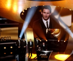 Lionel Messi won the 2011 FIFA Ballon d'Or on January 9, 2012.