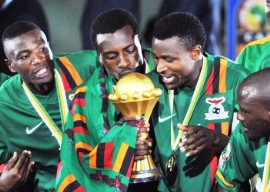 Zambia became African champions on February 13, 2012 after defeating Ivory Coast.