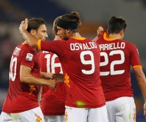 AS Roma are looking to destroy Siena as the competition in the Serie A grows.