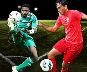 Nigeria and Tahiti will face off on Monday, June 17 in both teams' 2013 FIFA Confederations Cup opener