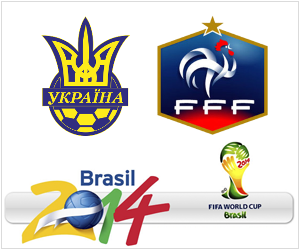 Ukraine vs France is one of four UEFA World Cup qualifying playoffs to take place on November 15, 2013