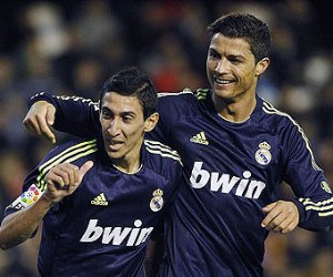 Cristiano Ronaldo and Angel Di Maria helped Real Madrid to destroy Valencia 5-0 on January 20.