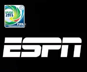 ESPN will air all 12 group stages matches live from the 2013 FIFA Confederations Cup in Brazil between June 15 and June 23.